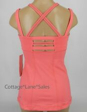 NEW LULULEMON Happy Strappy Tank 6 Pink Lemonade NWT Yoga Run Gym FREE SHIP