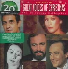 VARIOUS ARTISTS - THE BEST OF GREAT VOICES: 20TH CENTURY MASTERS/CHRISTMAS COLLE