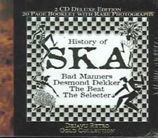 VARIOUS ARTISTS - HISTORY OF SKA USED - VERY GOOD CD