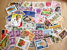 World wide collection......100 used stamps off paper