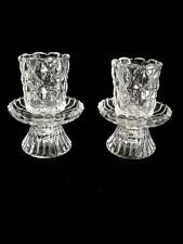 Pair Of Two-Piece Partylight Candle Holders With Tags Still On - Super Nice