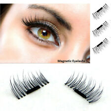 3D Magnetic 4pcs False Eyelashes No Glue Handmade Natural Extension Eye Lashes