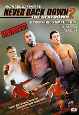 Never Back Down 2: The Beatdown (DVD, 2011, Unrated)