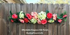 "35"" Swag ~ MANY COLORS  Centerpiece Silk Wedding Flowers Arch Decoration Chuppah"
