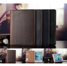 Folio Business Wallet Leather Stand Smart Sleep Wake Case Cover For Apple iPad