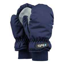 Barts Nylon Mitts Gloves Children Waterproof Mittens Fleece Lined Navy