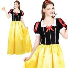 Snow White Costume Ladies Fairytale Fancy Book Week Outfit Size 6/28