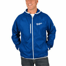 Los Angeles Dodgers Majestic Strong Will Dry Base Full-Zip Hooded Jacket - MLB