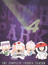South Park - The Complete Fourth Season (DVD, 2004, 3-Disc Set)