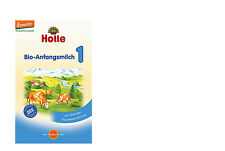 Holle Organic Infant Formula Stage 1,2,3,4- 8 boxes,  free shipping from Germany