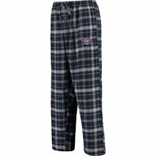 Tennessee Titans Concepts Sport Mens Nbo Ultimate Plaid Flannel Pant Lounge