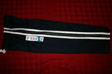 BOYS JUMPING BEANS MESH LINED ATHLETIC PANTS NAVY BLUE & WHITE SIZE 4 NWT
