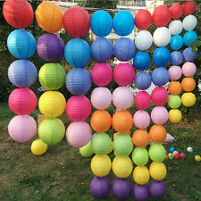 """Multicolor Chinese Paper Lantern Wedding Birthday Party Decoration 10"""" 12"""" 16"""" T"""