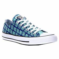Converse CT All Star Ox Indigo Green Glow Womens Canvas Low Top Trainers