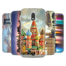 HEAD CASE DESIGNS CITY SKYLINES HARD BACK CASE FOR MOTOROLA MOTO E3 POWER