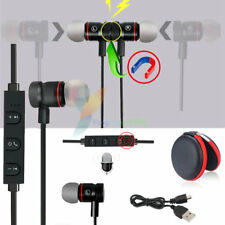 Black YP56 Magnetic Bluetooth Handsfree Headset Earphone For Cell Phone Vivo /LG