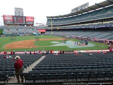 2 TICKETS CLEVELAND INDIANS @ LA ANGELS 9/20 *TERRACE MVP FRONT ROW*