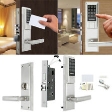 Electronic Digital Smart Password Door Lock Keypad Touch Screen With RFID Card