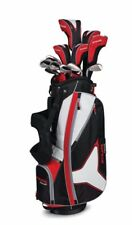 New Callaway Strata Tour Men's Complete Golf Set with Stand Bag 18-Piece