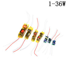 1-36W LED Driver Input AC100-265V Power Supply Constant Current  DIY LED Lamp TO