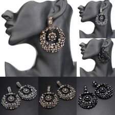 Fashion Jewelry Vintage Charm Rhinestone Crystal Statement Stud Dangle Earrings