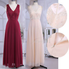 Women's Evening Dress Gown Prom Cocktail Party Bridesmaid Formal Long Sundress