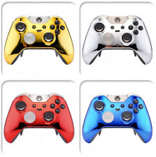 Custom Chrome Faceplates Front Shell for Xbox One Elite Game Controller  Replace