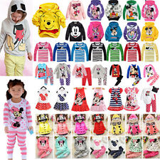 Kids Baby Boys Girls Mickey Minnie Hoodies Tops/Long Sleeve T-shirt/Coat/Outfits