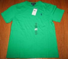 NEW NWT Polo Ralph Lauren Boys Pony Logo Short Sleeve T-Shirt Green $19.50 *1N