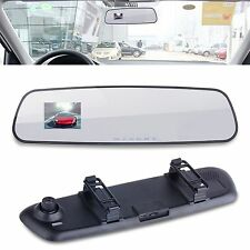 "2.4"" LCD HD Car Vehicle Rearview Mirror DVR Camera Video Recorder Night Vision"