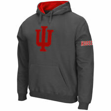 Indiana Hoosiers Stadium Athletic Big Logo Po Hood Sweatshirts