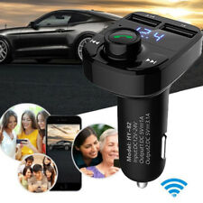 Wireless Bluetooth Car Kit Handsfree FM Transmitter LCD MP3 Player USB Charger