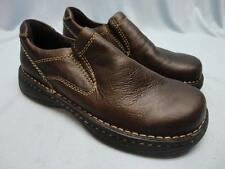 Mens GBX Nelles Brown Slip On Leather Upper Shoes Size 9.5M - New