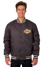 Los Angeles Lakers NBA Jacket Poly Twill Quilted Lining Embroidered Logos
