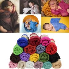 Newly Newborn Baby Girls Boys Crochet Costume Photo Photography Prop Wrap Cloth