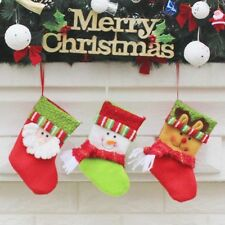 Stanta Pressent Wrapping Elk Bag Sock Hanging Ornaments Cute Christmas Gift Sock