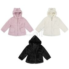 New Girl Thicken Coat Fashion Kid Autumn Winter Faux Fur Outerwear Dressy Jacket