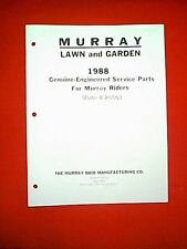 MURRAY REAR ENGINE RIDING MOWER MODEL 8-25501 PARTS MANUAL