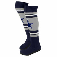 Dallas Cowboys Forever Collectibles Ladies Knee Slippers
