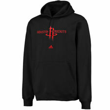 Houston Rockets Adidas Mens Adidas Full Primary Logo Po  Sweatshirts - Black