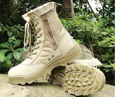 Men's US Military Leather Boots Combat Infantry Anti Slip Tactical Footwear