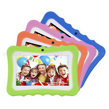 7'' Quad Core Android 4.4 Kids Tablet PC Dual Camera 8GB Bluetooth Wi-Fi Child