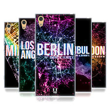 HEAD CASE DESIGNS CITY LIGHTS SOFT GEL CASE FOR SONY XPERIA XA1 ULTRA / DUAL