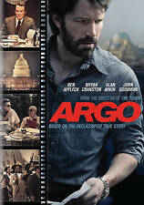 Argo DVD Widescreen Version Ben Affleck Tate Donovan, John Goodman