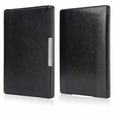 "Magnetic Auto Sleep Leather Cover Case Protector for kobo aura h2o 6.8""eReader"