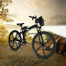 36V 250W Folding Electric MTB Magnesium Alloy 6 Spokes Integrated Wheel Bicycle