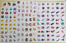 BOY'S/GIRL'S/CHILDREN'S/KID'S PARTY BAG TEMPORARY TATTOOS MANY DIFFERENT DESIGNS