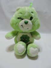 "Kenner Care Bears Good Luck Green Clover Shamrock 1983 Vintage 13"" Toy"
