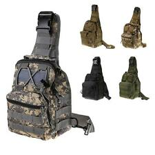 New Men Military Tactical Travel Hiking Messenger Backpack Chest Waterproof Bag