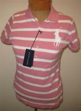 NEW RALPH LAUREN The Skinny Polo Big Pony Womens Shirt Top  L NWT